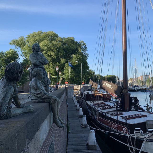 Boot, Hoorn, Noord-Holland, Nederland