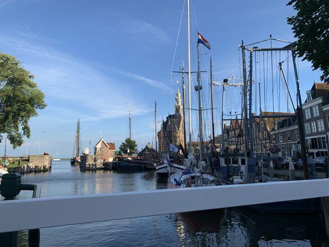 Haven Hoorn, Noord-Holland, Nederland