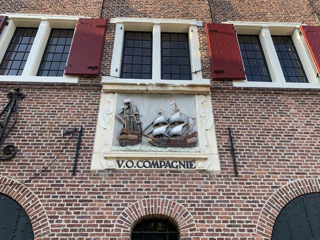 VOC pakhuis, Hoorn, Noord-Holland, Nederland