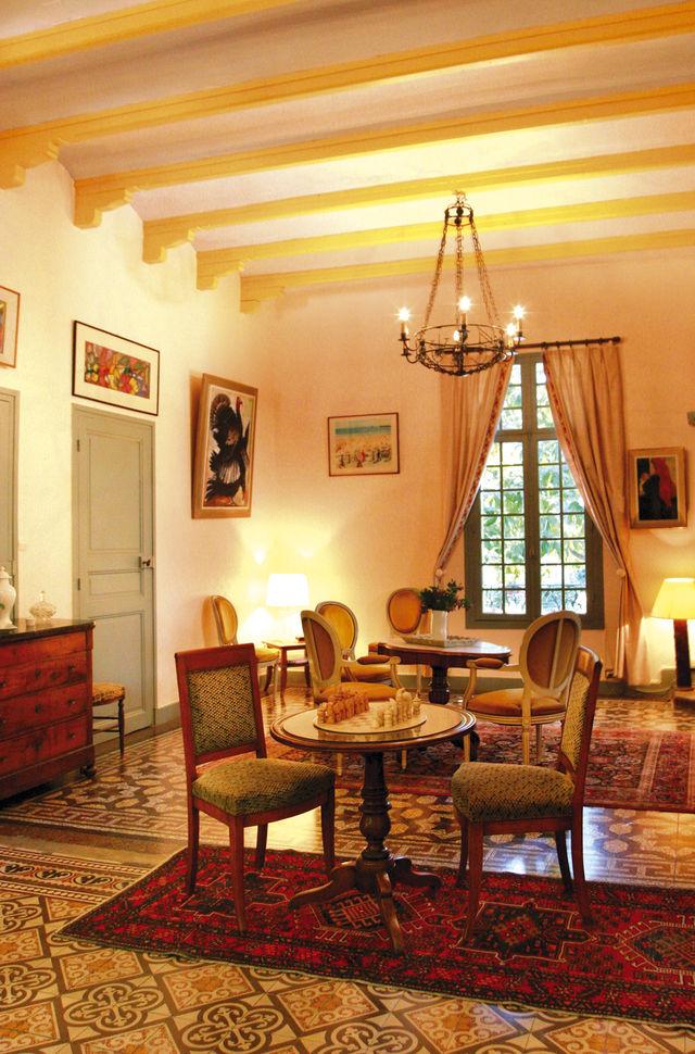 Casa Païral Collioure zaal
