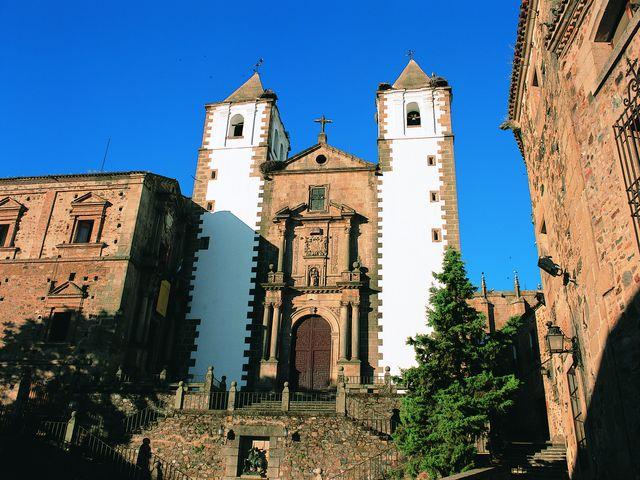 San Francisco Javier Kerk Cáceres Spanje