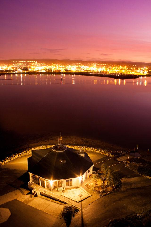 Inverness Schotland nacht