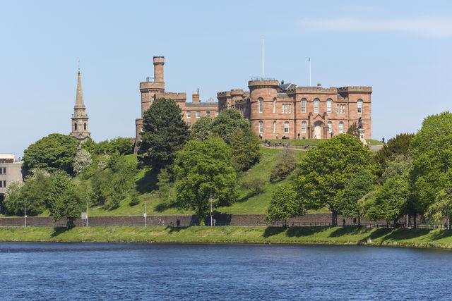 Kasteel Inverness castle Schotland