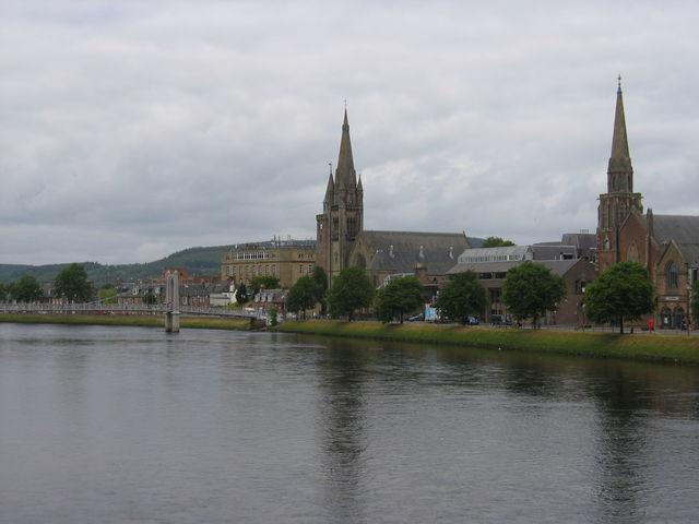 Inverness kerken Schotland