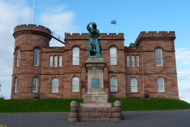 kasteel Inverness Schotland