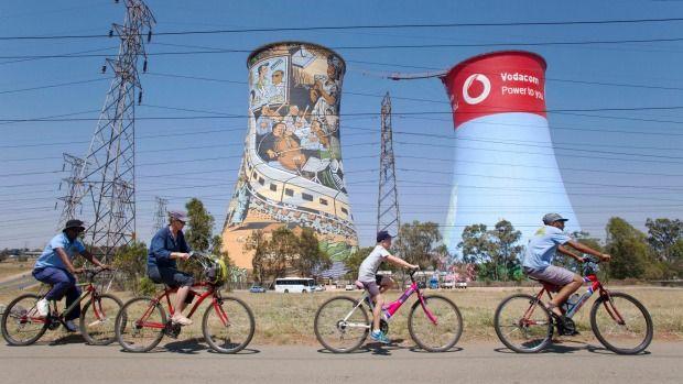 Fiestocht door Soweto
