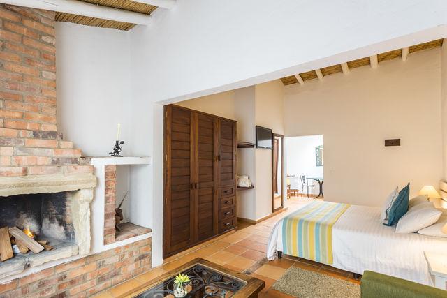 Rondreis Colombia Ricaurte Villa de Leyva Getsemani junior suite