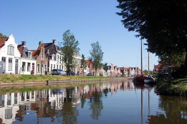 Kanaal Workum Friesland