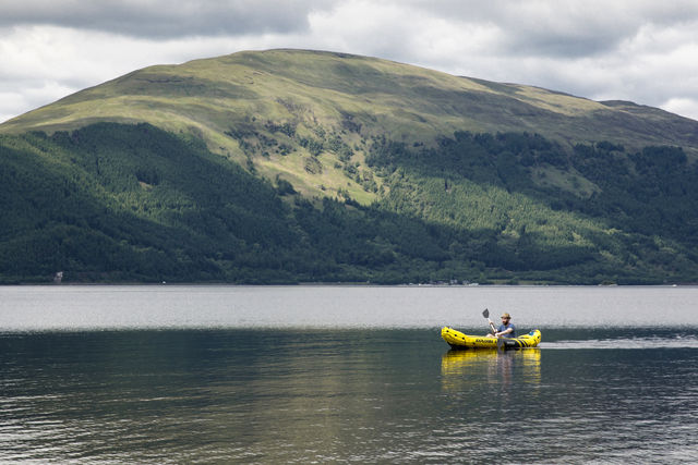 Kayak Loch Lomond Schotland