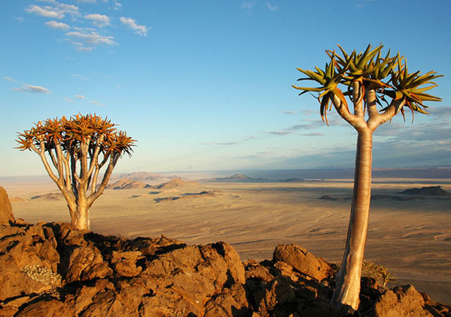 Rondreis Namibie Aus view