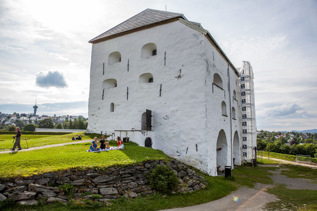 Kristiansten Festning Trondheim Trøndelag Noorwegen
