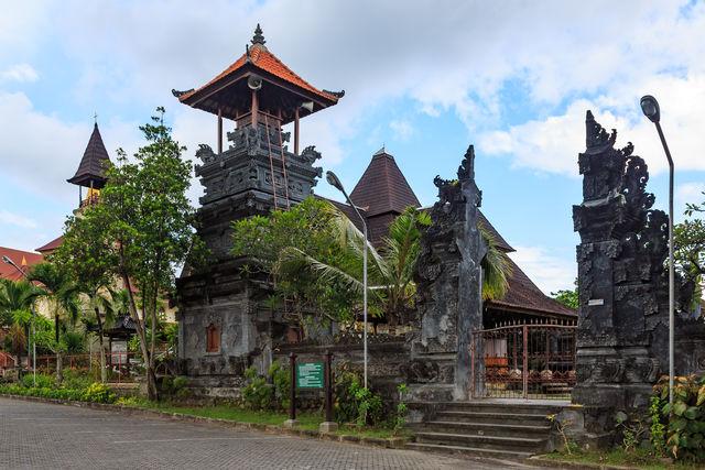 Pura Jagatnatha Bali Denpasar Indonesië