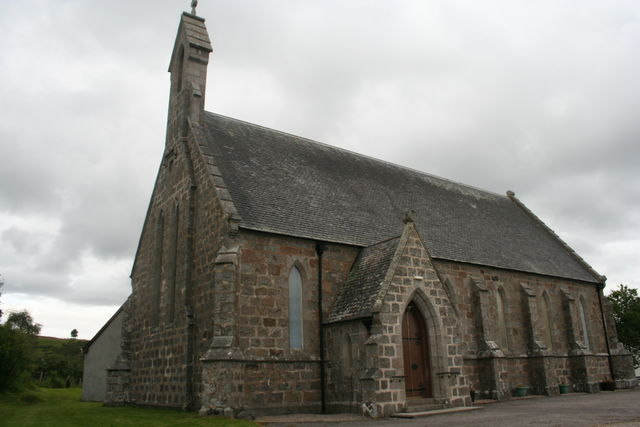 Kerk lairg Schotland