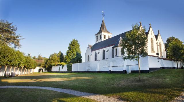 Sint Martinuskerk Sint-Martens-Latem Oost-Vlaanderen België