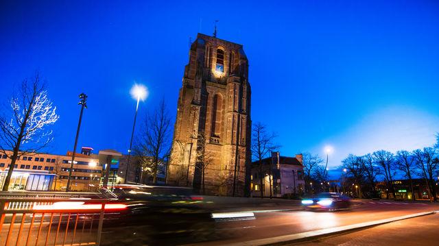 Toren Oldehove Leeuwarden Friesland Nederland