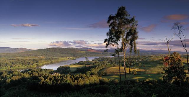 Loch Ken Panorama Schotland
