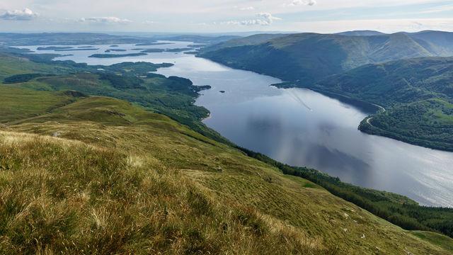Loch Lomond natuur Schotland