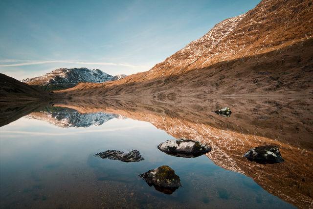 Loch Restil Cairndow Schotland