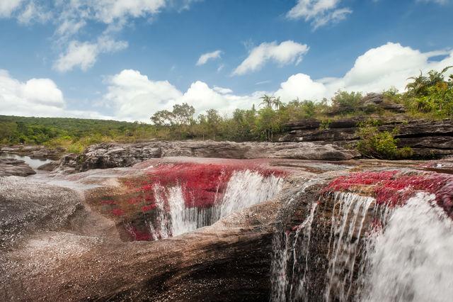 Rondreis Colombia Meta La Macarena Cano Cristales onwerkelijk landschap