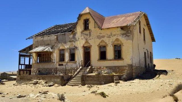 Rondreis Namibie,Kolmanskop