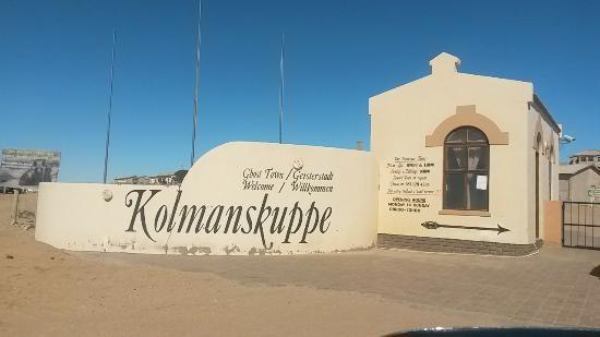 Rondreis Namibie Kolmanskop