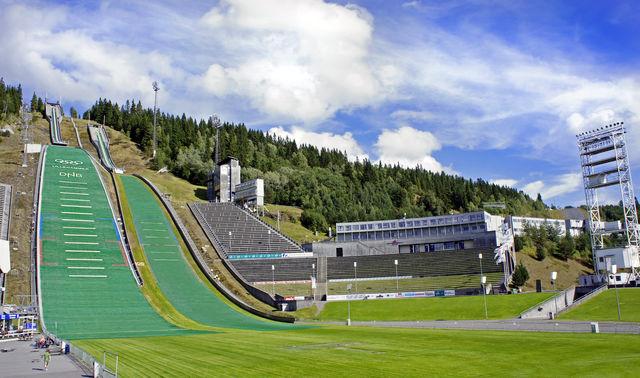 Lysgårdsbakken Lillehammer Oppland Noorwegen