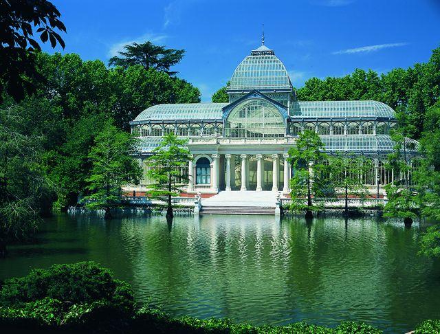 Parque del Retiro Madrid Spanje