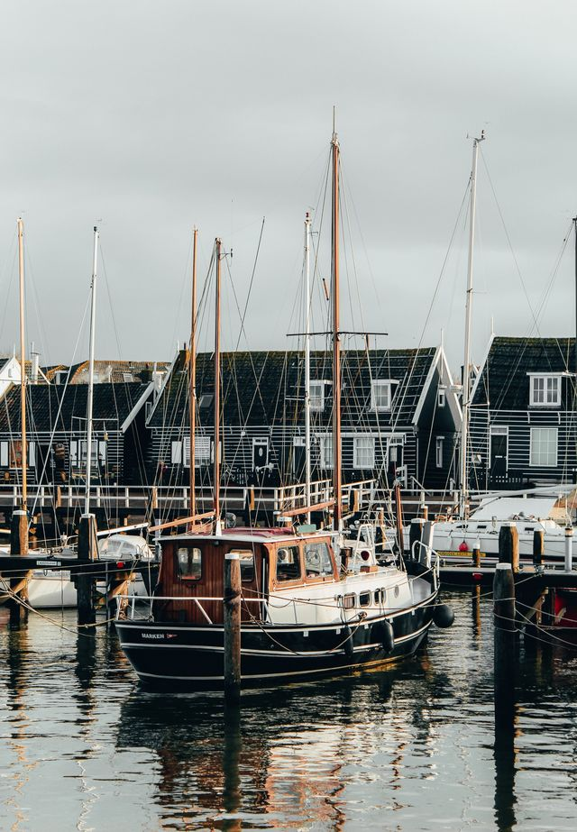 Haven van Marken Noord-Holland Nederland