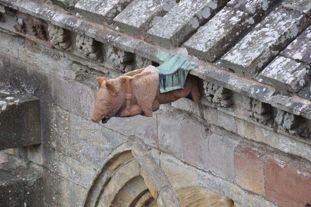 Melrose abdij Schotland