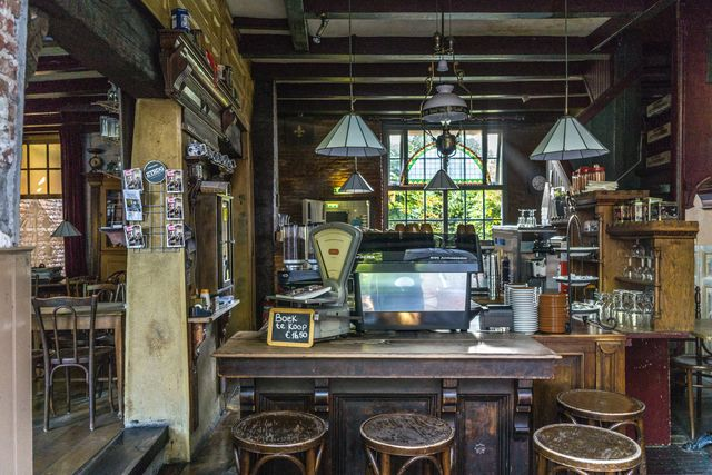 Café Middelburg Zeeland Nederland