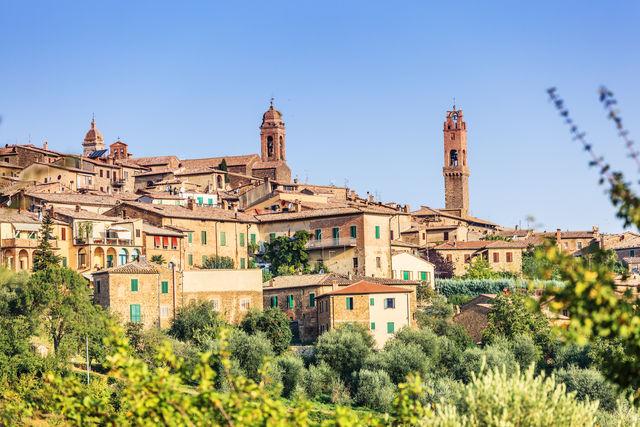 Italië Toscane Montalcino