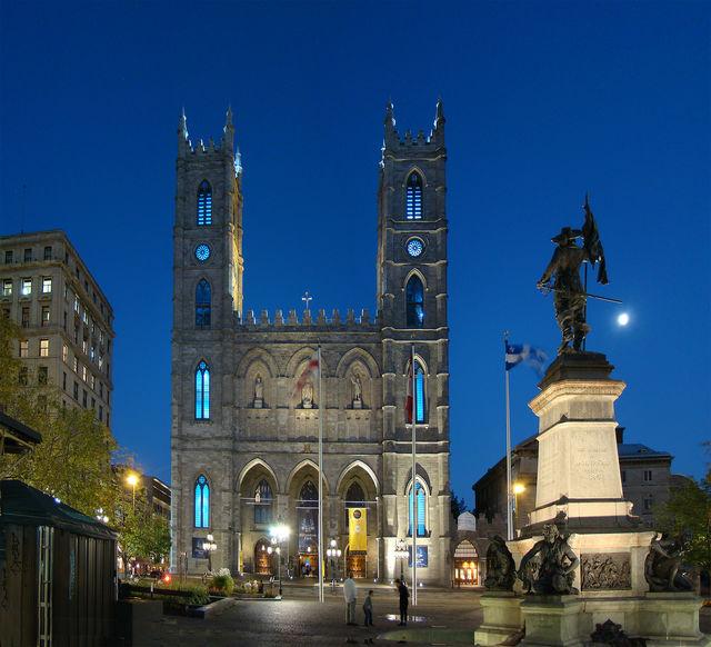 Basiliek Notre Dame Montreal Canada