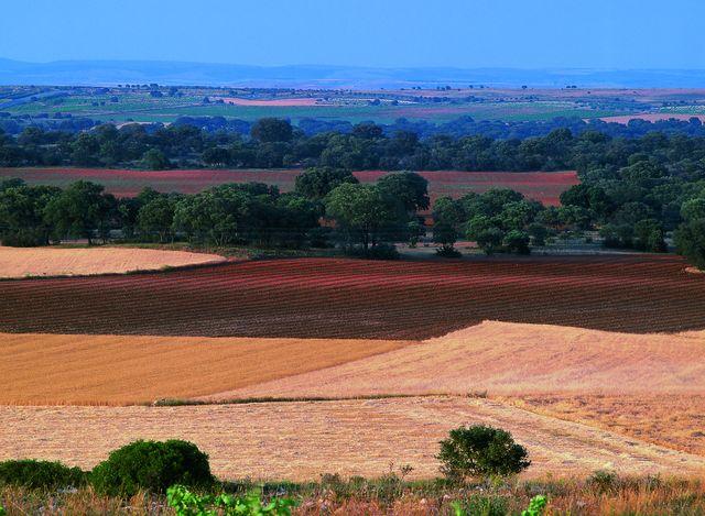 Platteland Cuenca Spanje