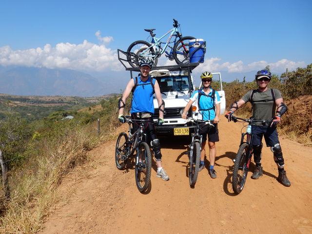 Rondreis Colombia Santander San Gil outdoor mountainbiken onder begeleiding