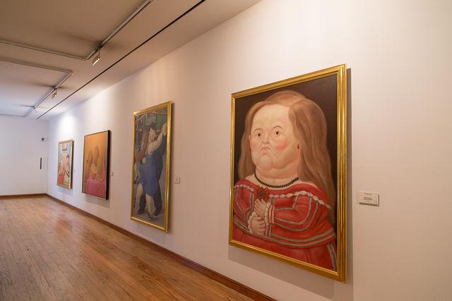 Rondreis Colombia Bogota Museo Botero schilderkunst