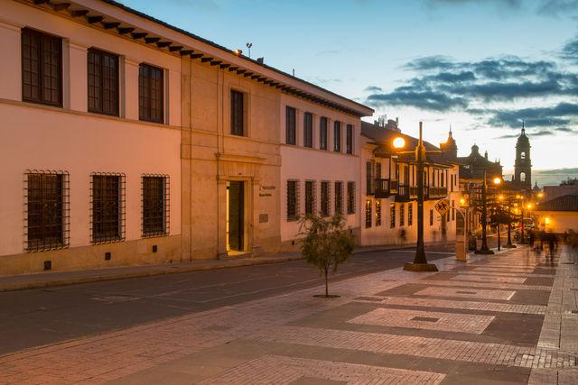 Rondreis Colombia Bogota Het Botero Museum in de wijk La Candelaria