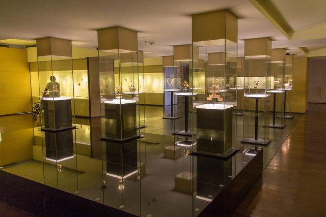 Rondreis Colombia Bogota Goudmuseum overzicht van een zaal