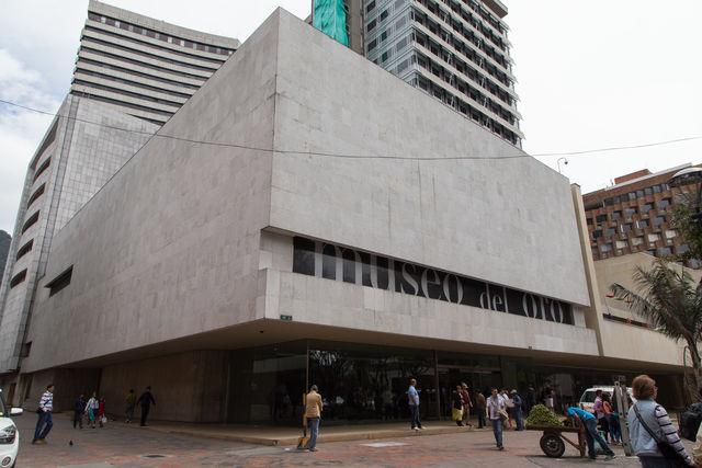 Rondreis Colombia Bogota Voorgevel Goudmuseum