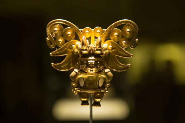 Rondreis Colombia Bogota Goudmuseum één van de pronkstukken