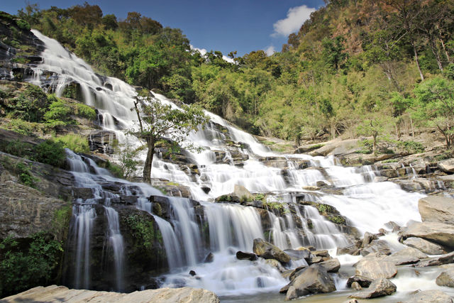 Chiang Mai Waterval natuur Thailand