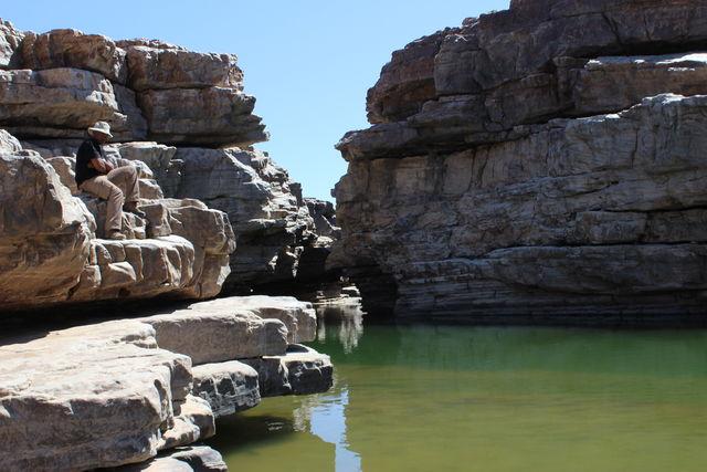 Rondreis Namibie Fish River Canyon meertje