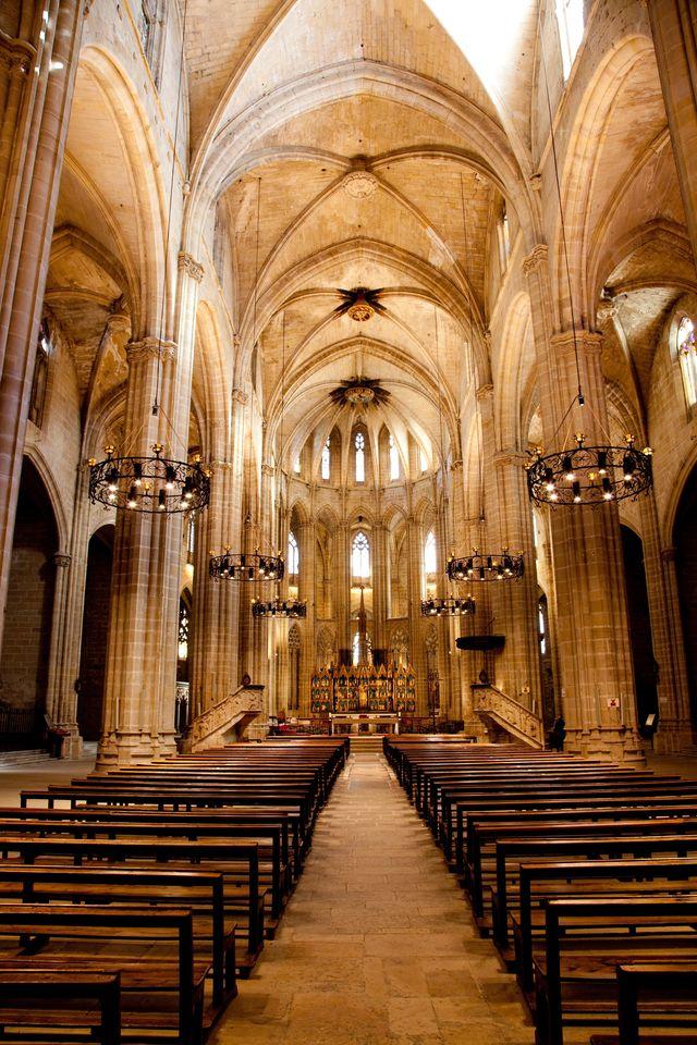Kathedraal Santa Maria Tortosa Spanje