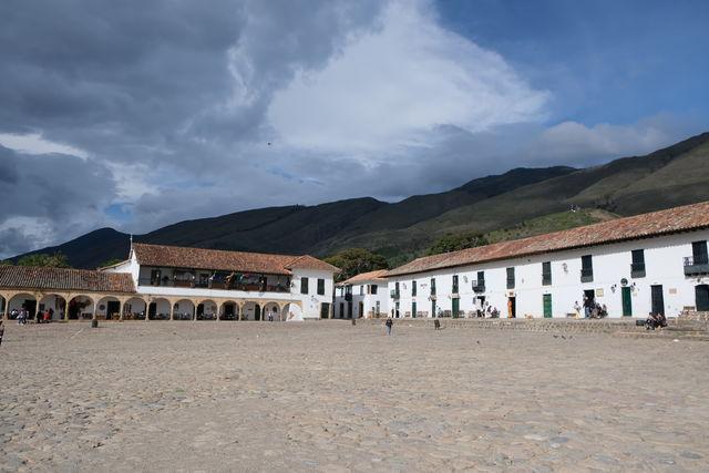 Rondreis Colombia Ricaurte Villa de Leyva het centrale plein