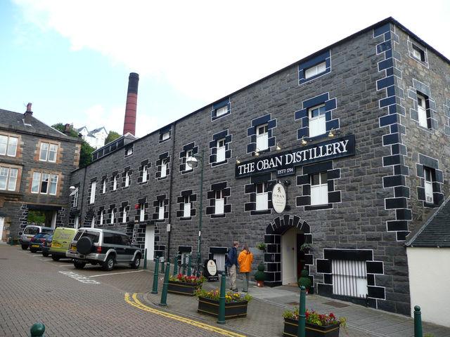Oban distilleerderij Schotland