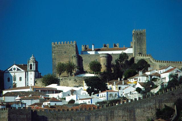Portugal Obidos stad