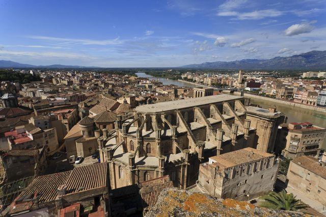 Kathedraal oude stad Tortosa