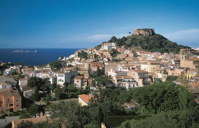 Begur Stad Catalonië Spanje