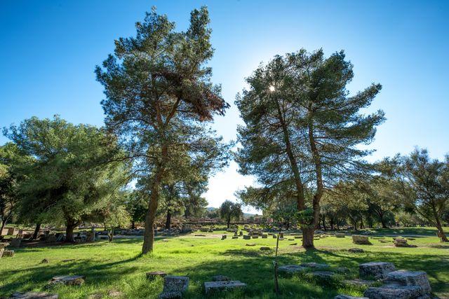 Olympia Peloponnesos Griekenland