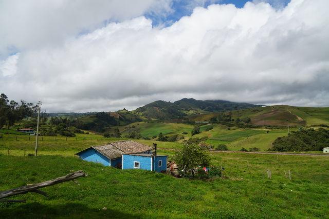 Rondreis Colombia Ricaurte Villa de Leyva de groene omgeving van deze plaats