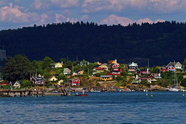 Oslo Oslofjord Noorwegen